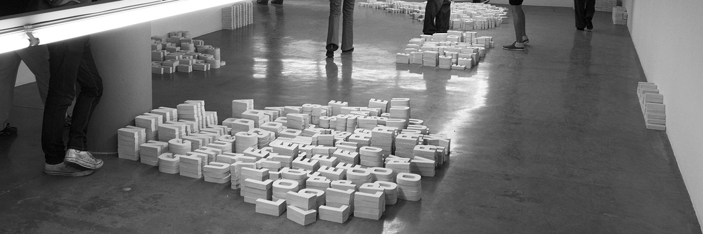 10 000 Letters  2008 © Melik Ohanian