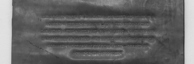Datcha Project — Statement (2005/2014) 2014 © Melik Ohanian