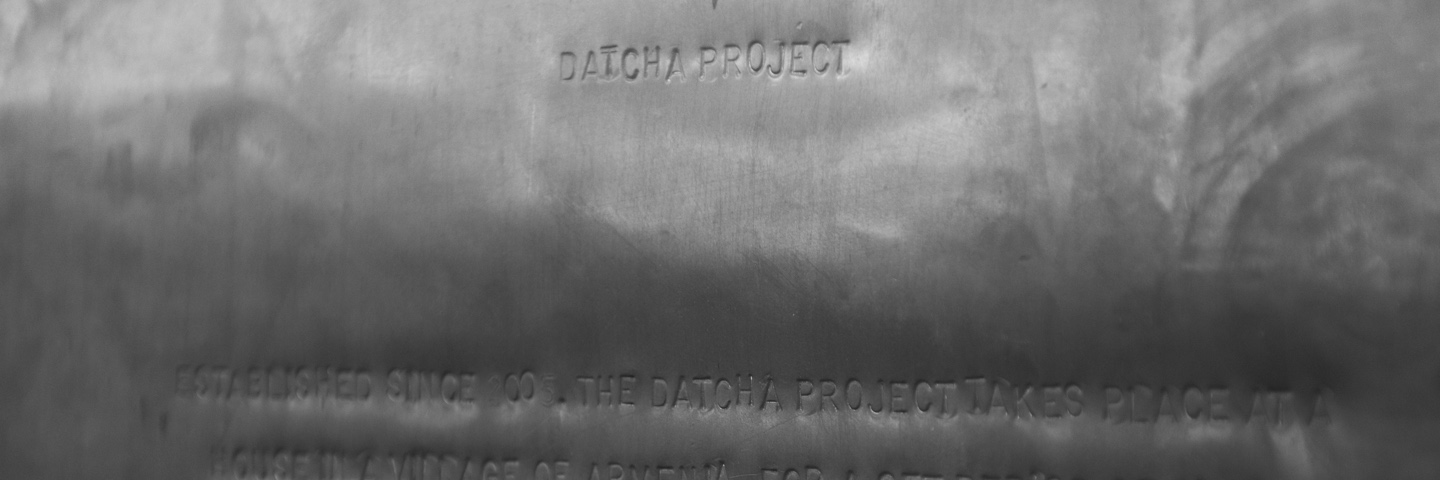Datcha Project — Statement (2005/2014) 2014 © Melik Ohanian